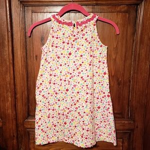 Hanna Andersson Dresses - Hanna Andersson Polka Dot Dress size 120 6X/7